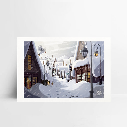 Illustration A5 Hogsmeade
