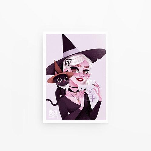 Illustration A4 Jackson & Modern Witch