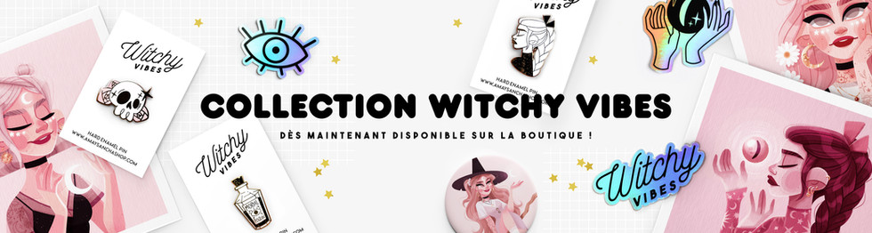 Collection Halloween Witchy Vibes Bannière Amay Sancha