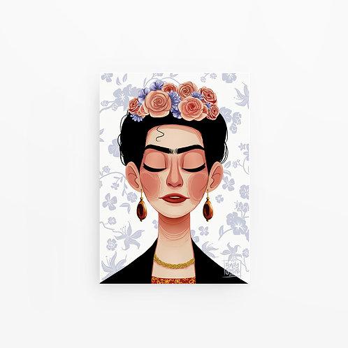 Illustration A4 Frida Kahlo