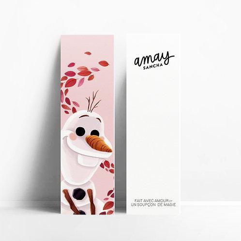 Olaf bookmark
