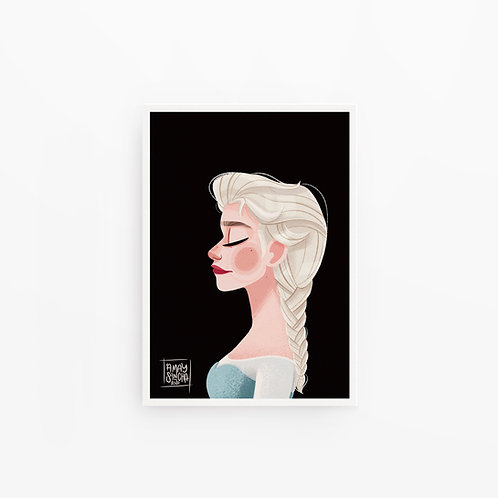 Illustration A4 Elsa
