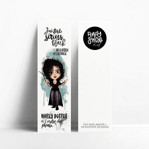 Marque-pages Bellatrix Lestrange