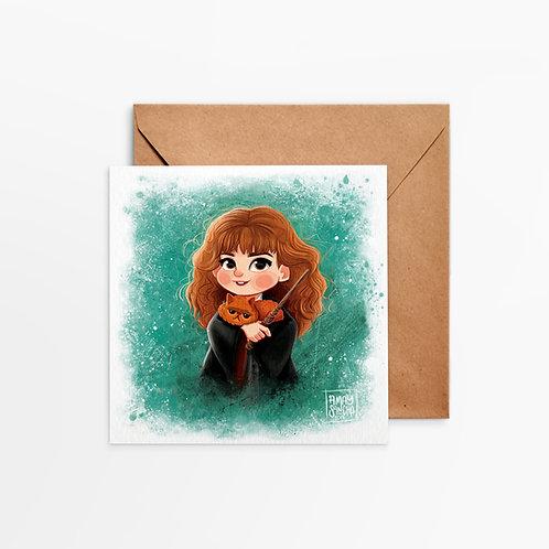 Carte Carrée Hermione