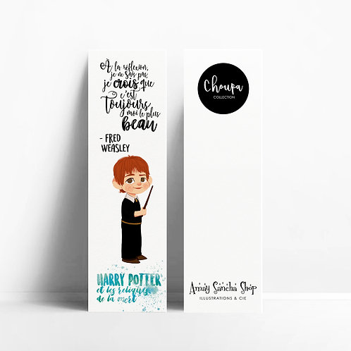 Marque-pages Fred Weasley