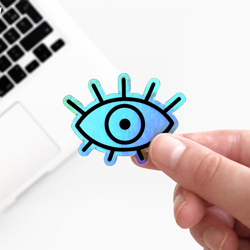 Sticker Holographique Eye on You