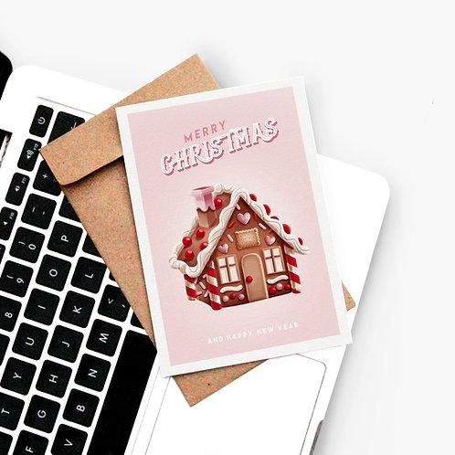 Carte Postale Gingerbread House