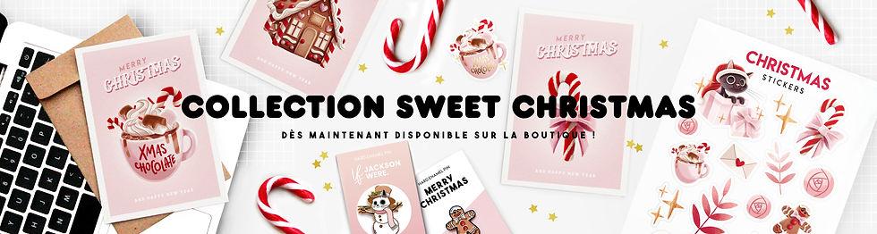 Collection de Noël Sweet Christmas Bannière Amay Sancha