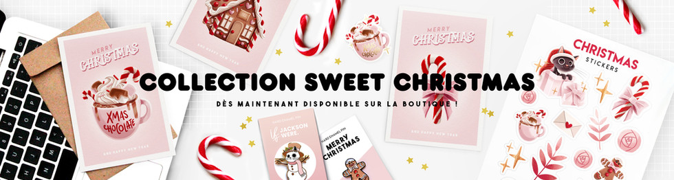 Collection de Noël Sweet Christmas Bannière Amay Sancha
