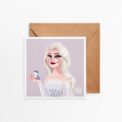 Carte Carrée Elsa