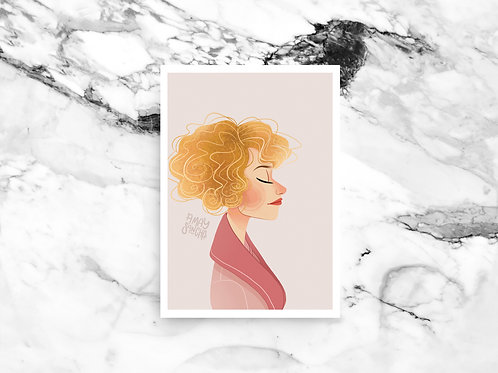 Illustration A4 Queenie Goldstein