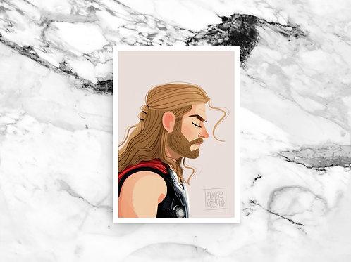Illustration A4 Thor