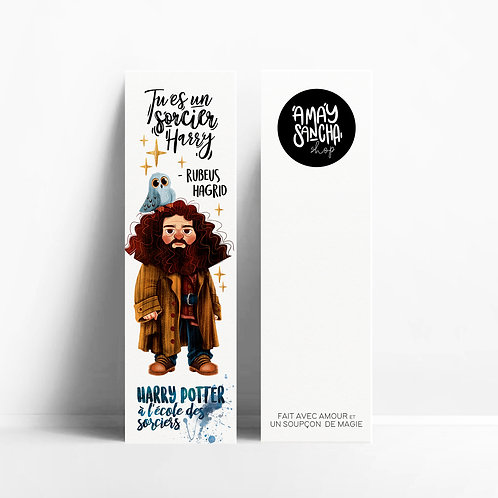 Marque-pages Hagrid