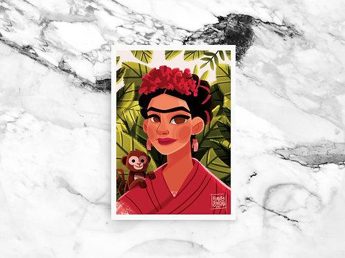 Illustration A4 Frida