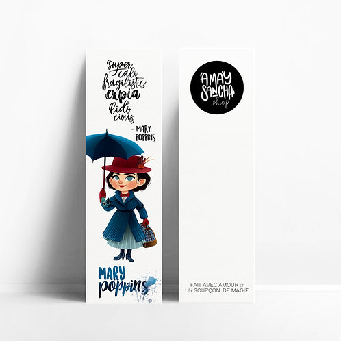 Marque-pages Mary Poppins