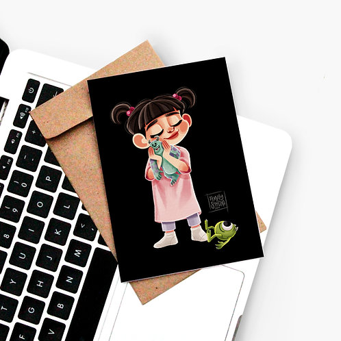 Carte Postale Bouh