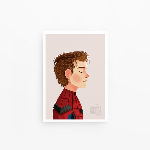 Illustration A4 Spider-Man