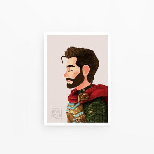 Illustration A4 Mysterio