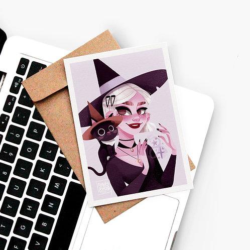 Carte Postale Jackson & Modern Witch