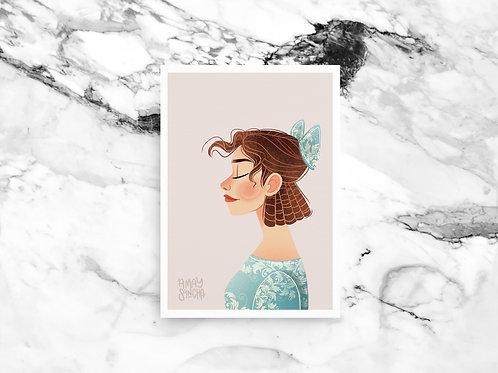 Illustration A4 Wendy