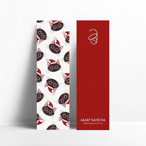 Marque-pages Jackson Santa Claus