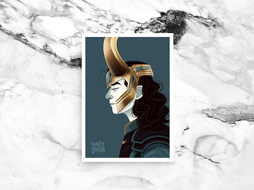 Illustration A4 Loki