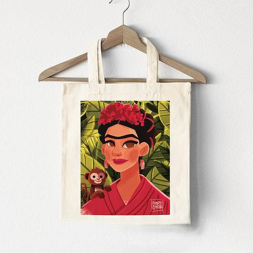 Tote Bag Frida's Monkey