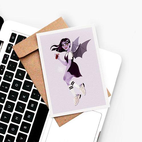 Carte Postale Vampirette