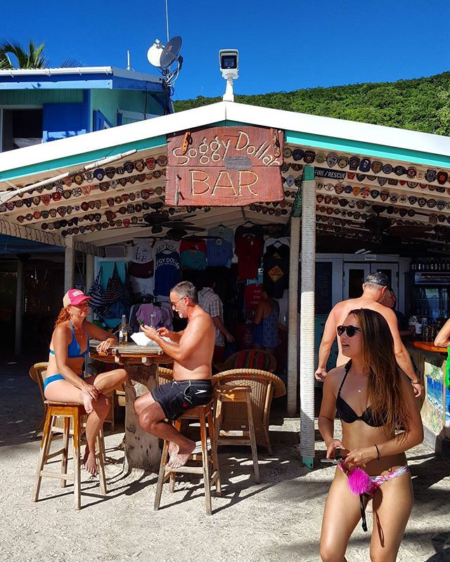 Soggy Dollar Bar, Jost Van Dyke