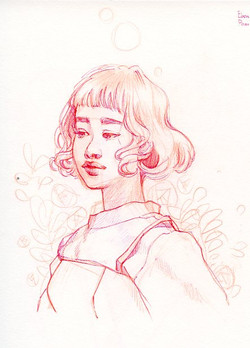 Pink Sketch