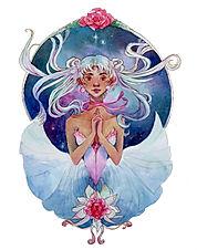 Girl in the Stars(white border).jpg