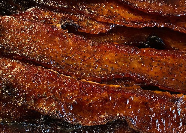 Candied Bacon with all natural sugarcane