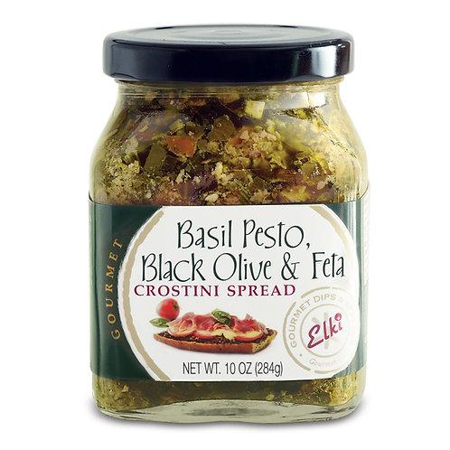 Basil Pesto Black Olive & Feta