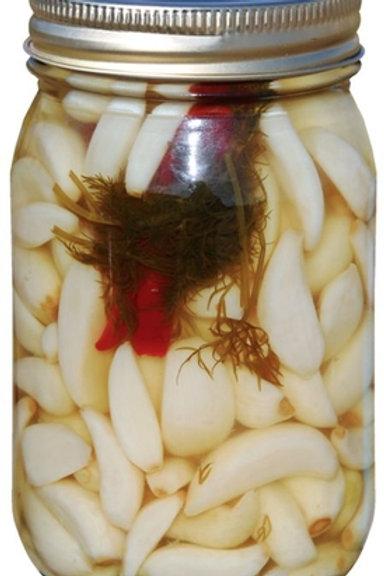 Dilled Pickled Garlic