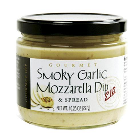 Smoky Garlic Mozzarella Dip