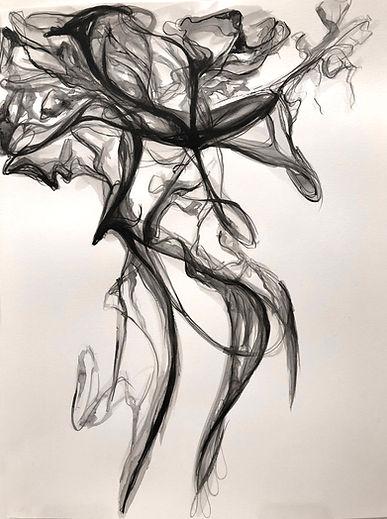 smoke painting acrylic