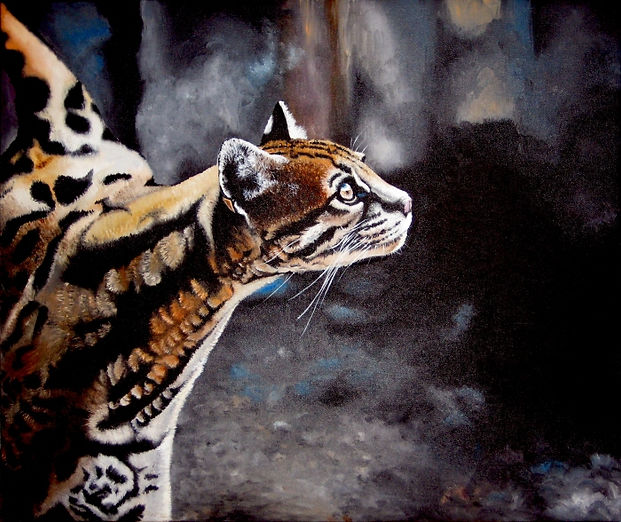 Oil Painting National Geographic