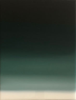 Oil Paintig Gradient Green