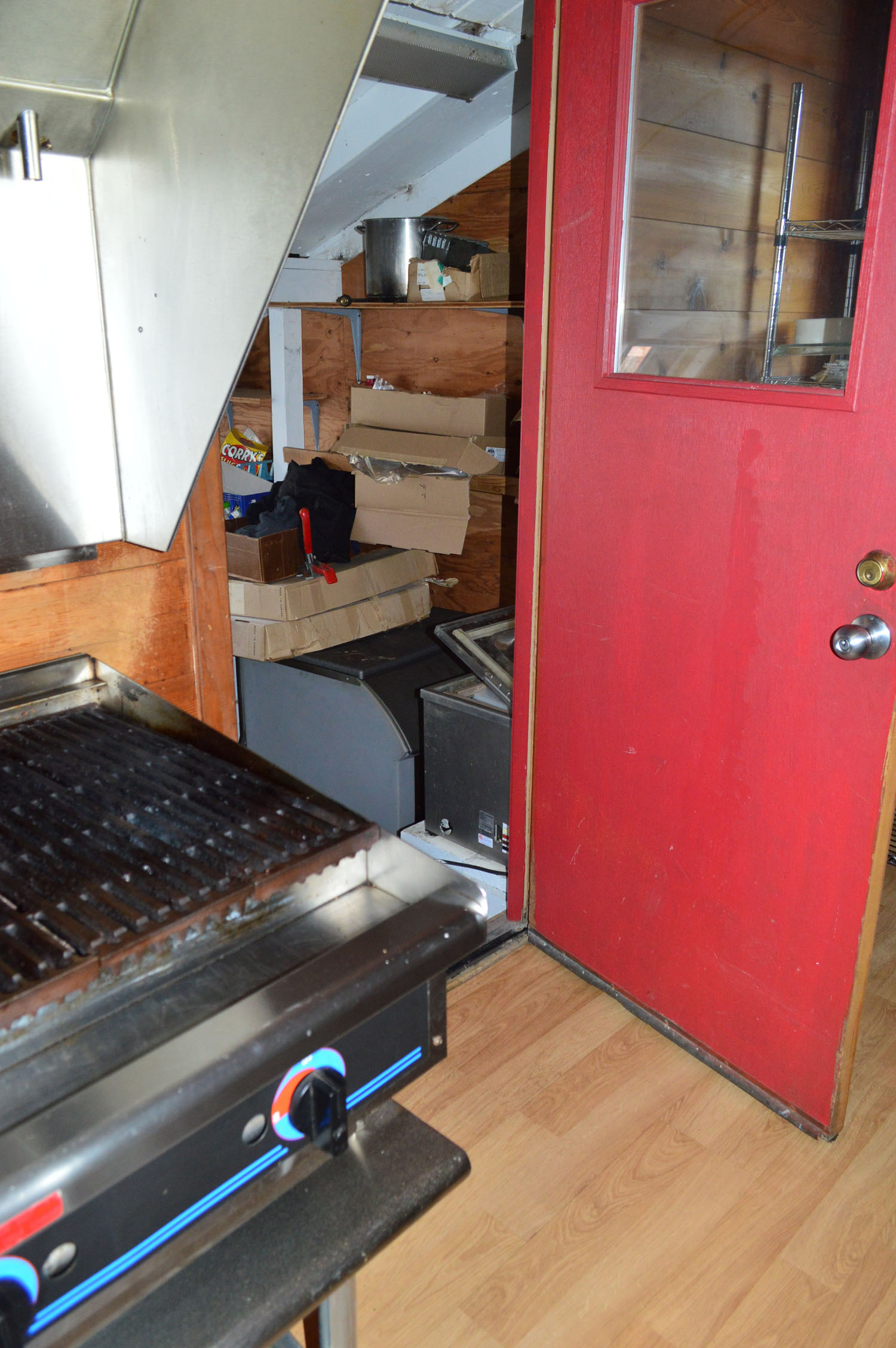 Fish Processing Room Off Kitchen