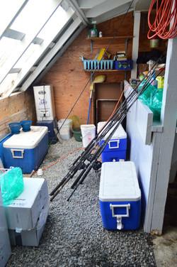 Fish Processing Room