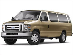 2014-ford-e350 super duty passenger-fron