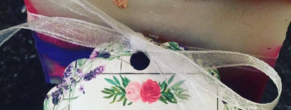 Lavender Rose Wedding Favors