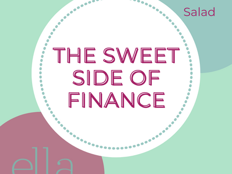 The Sweet Side of Finance -- April