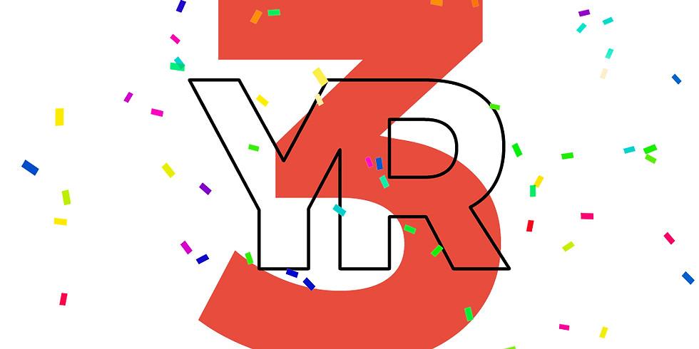 3 YR Celebration