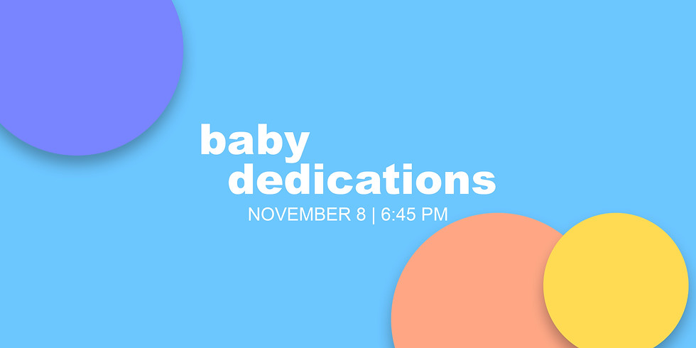 Baby Dedication at The House