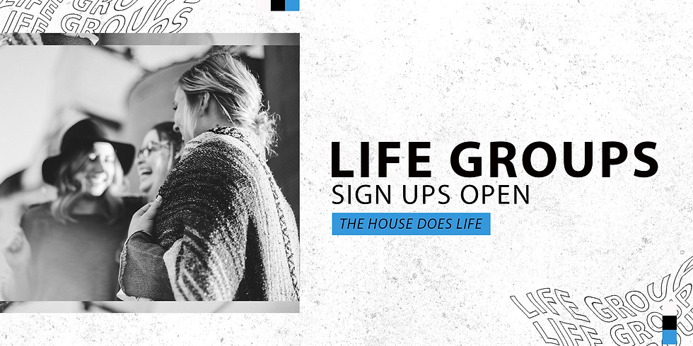 Life Group Sign Ups