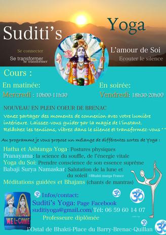 Cours de Yoga à Brenac-Haute Vallée de l'Aude