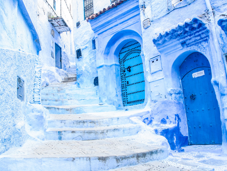 Through the Alleys of the Sky | Chefchaouen – Morocco