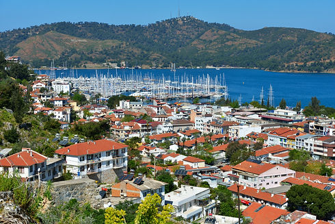Aerial view to the bay of Fethiye, Turkey.jpg
