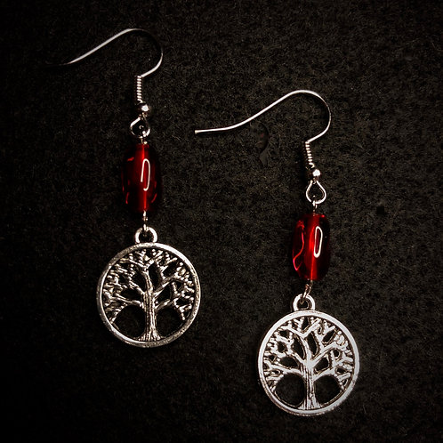 Tree of Life & Red Glass